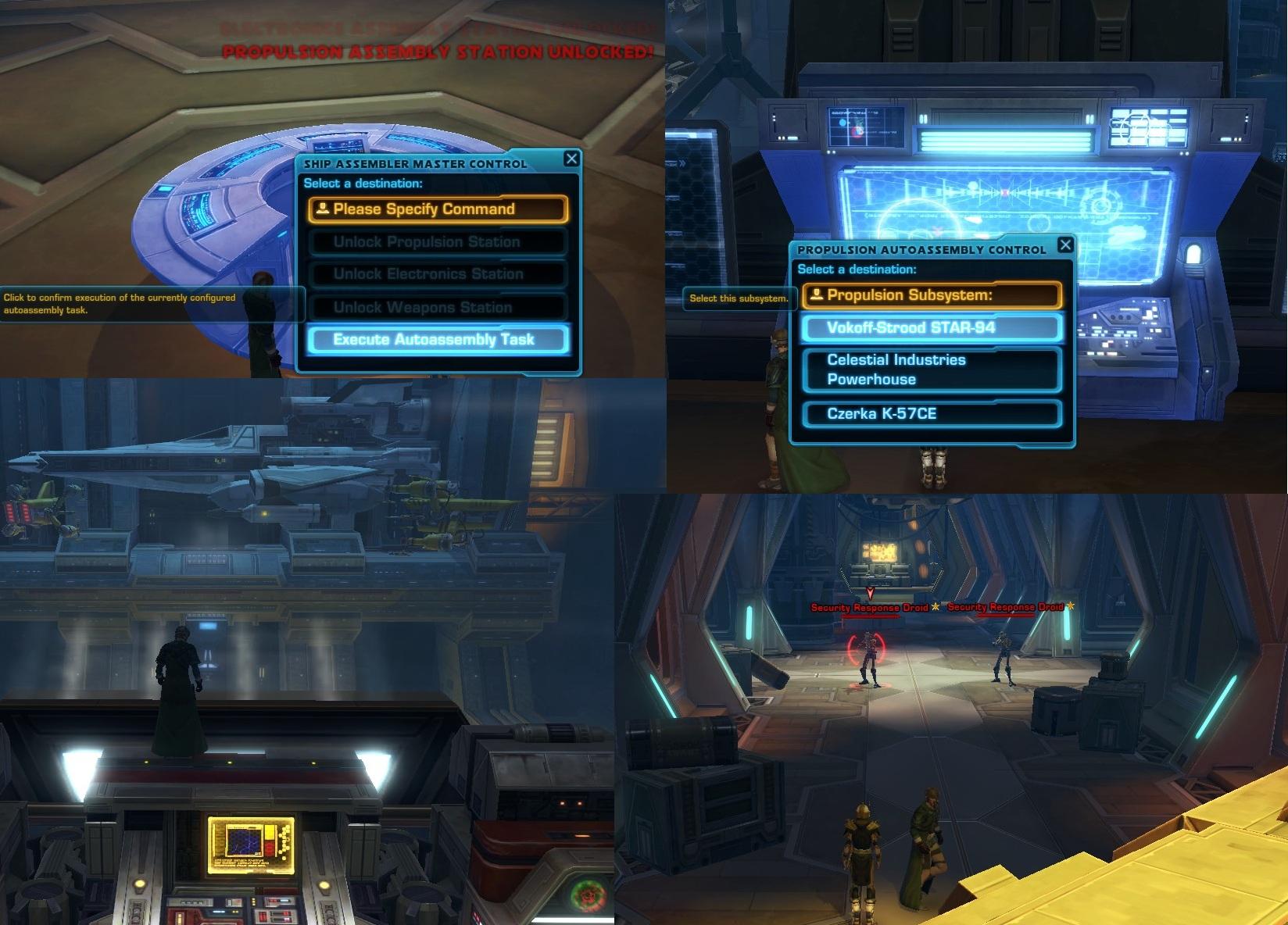 Starship Assembly Scenario