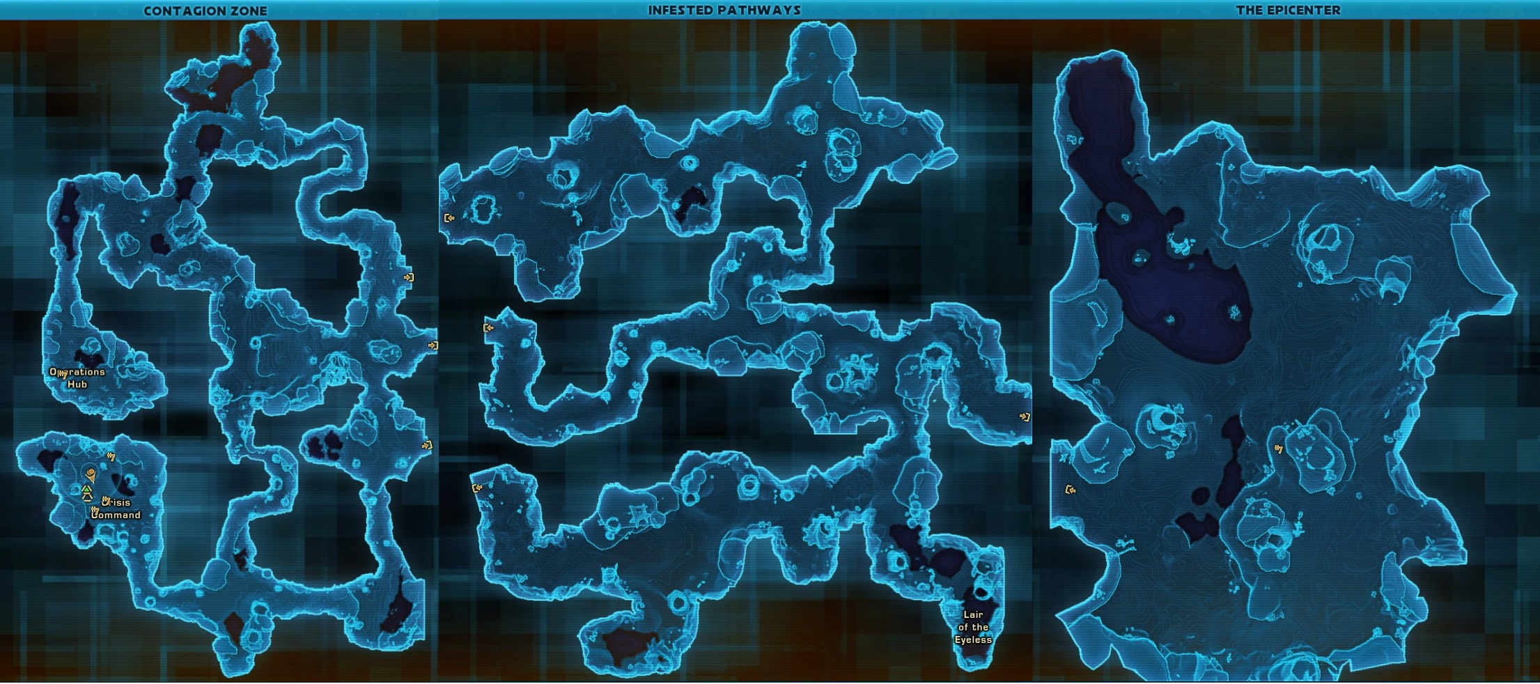 Swtor Rakghoul Event Tunnel Maps