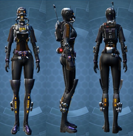 Swtor THORN Reputation Epicenter Armor Set