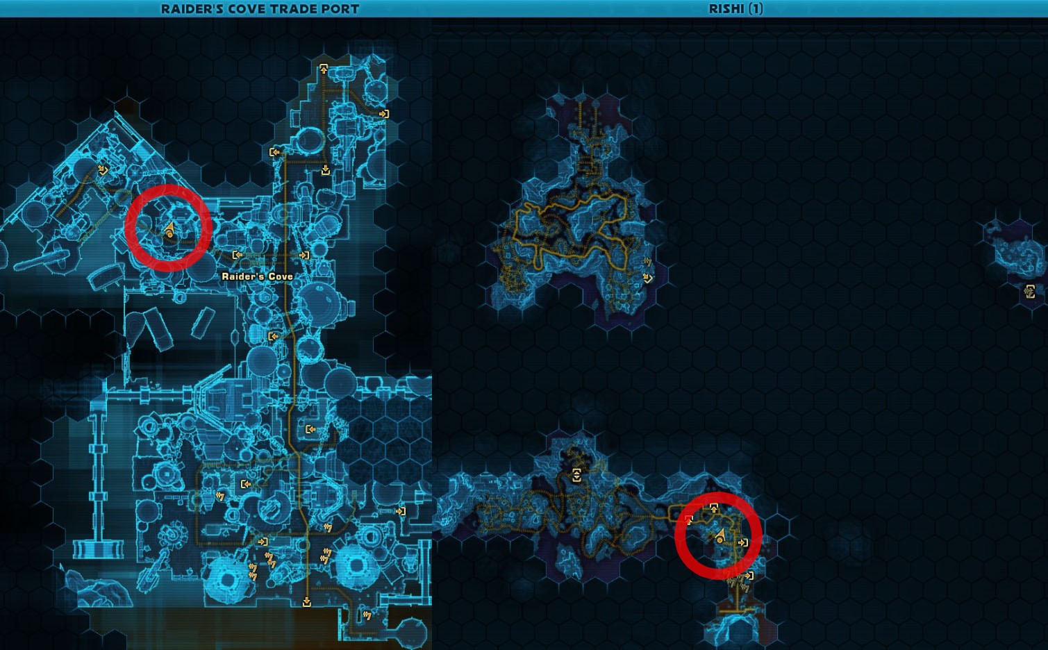 Swtor Deep Sea Pheromones Map Location