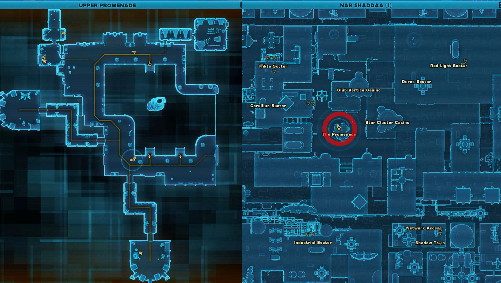 Swtor Life Day Event Nar Shaddaa Overheated Gift Droids Location