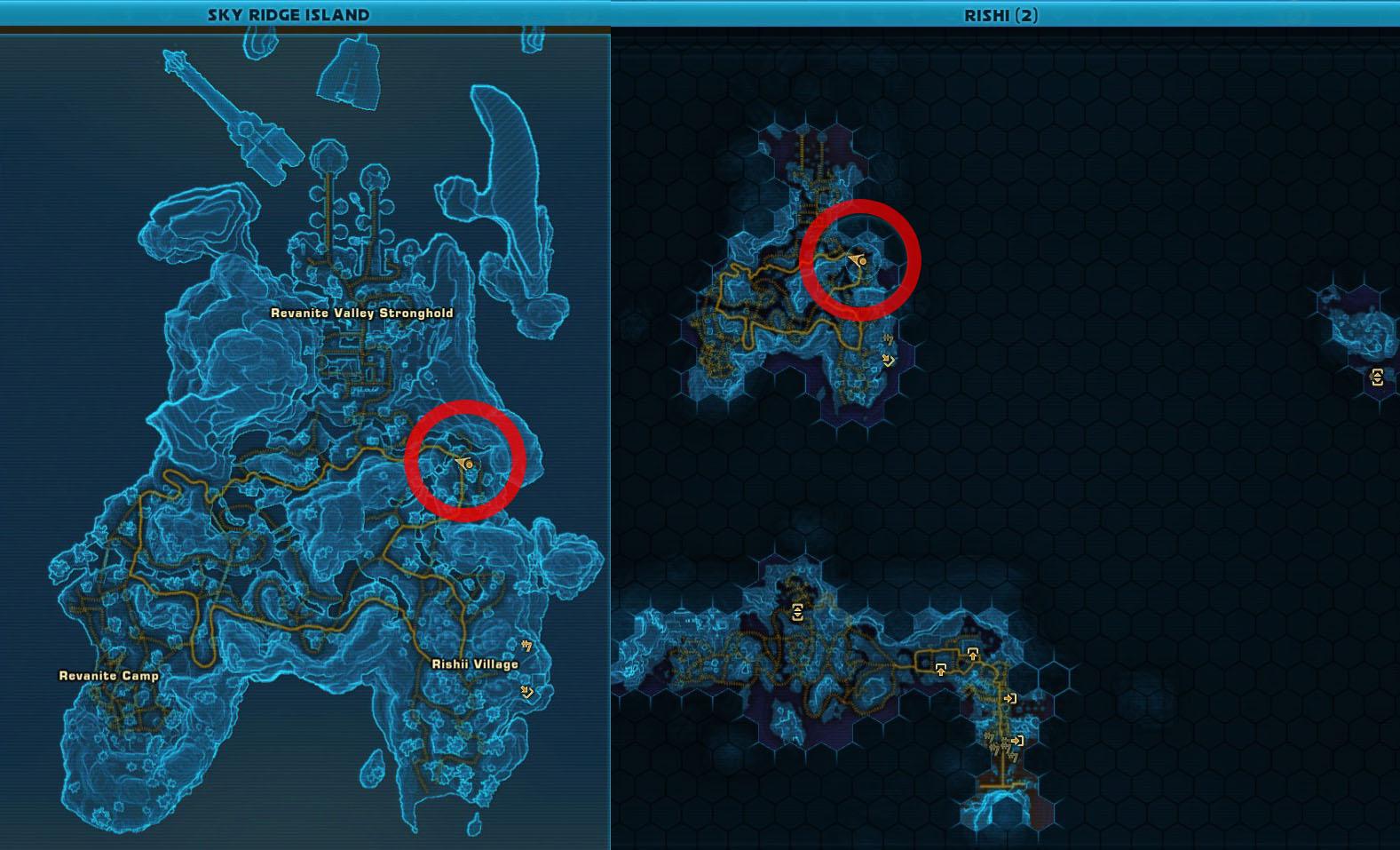 Wudd the Grophet Map Location