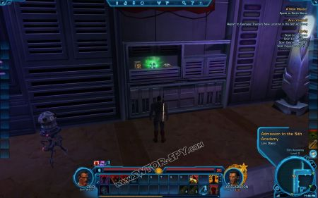 lore object Admission to the Sith Academy image 1  middle size