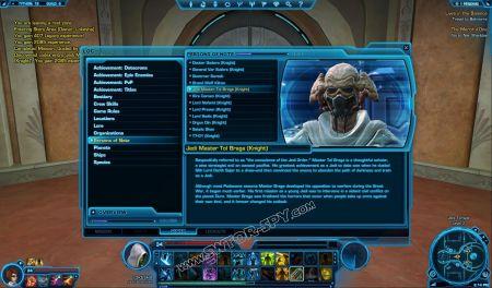 codex Jedi Master Tol Braga (Knight) image 1  middle size