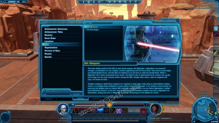 lore object Sith Weapons image 0  middle size
