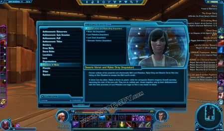 codex Destris Veran and Rylee Dray (Inquisitor) image 1  middle size