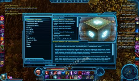 codex Galactic History 01: The Architects image 3  middle size