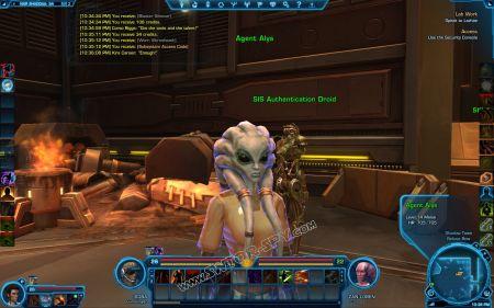 NPC: Agent Alys image 2 middle size