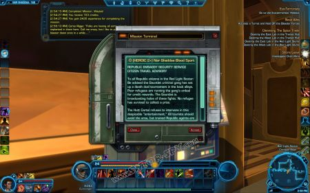 Quest: [HEROIC 4] Nar Shaddaa Blood Sport, additional info image 8 middle size