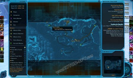 tracking the republic swtor quest database, electrical diagram, icefall plains location world map hoth