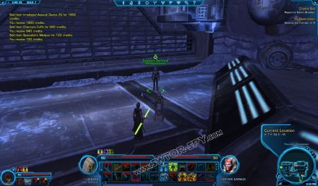 NPC: Captain Sarmuk image 1 middle size