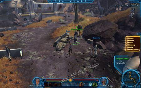 NPC: Sergeant Blyes image 1 middle size