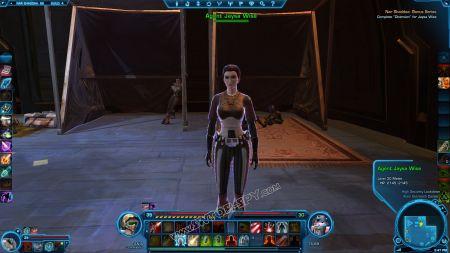 NPC: Agent Jaysa Wise image 3 middle size