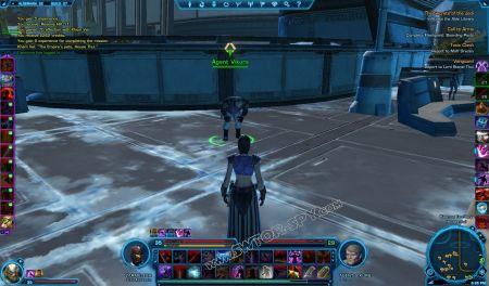 NPC: Agent Vikurs image 1 middle size