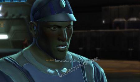NPC: Agent Brandis image 3 middle size