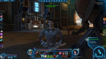 NPC: Lieutenant Hollis image 3 middle size